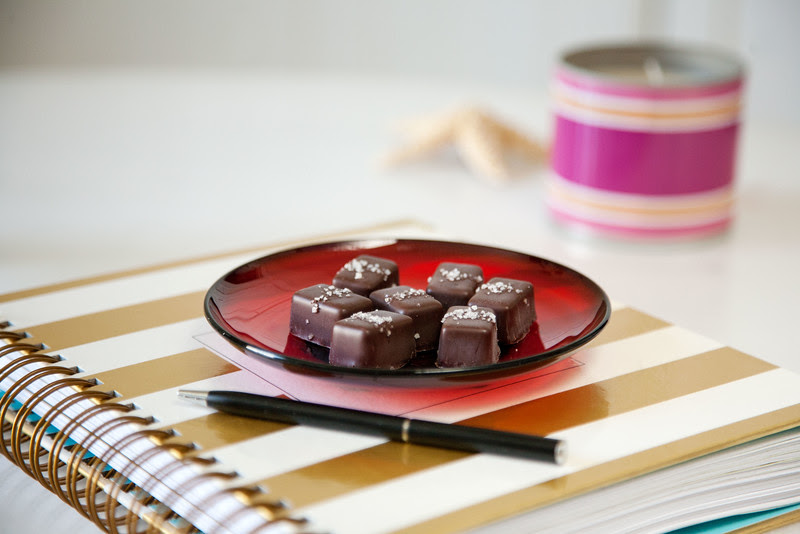 Make a monthly date with yourself! Grab a treat and review your accomplishments.