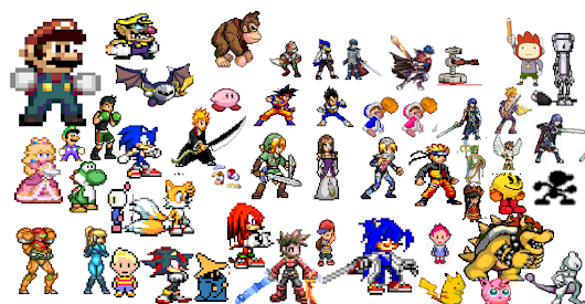 Super Smash Flash 2 Characters