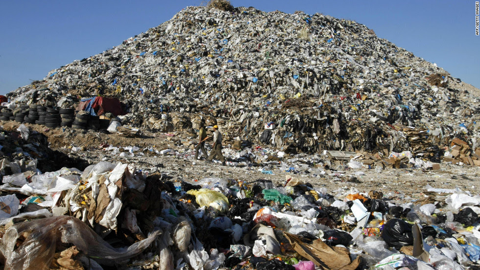 Image result for pictures of Refuse dump at Obosi