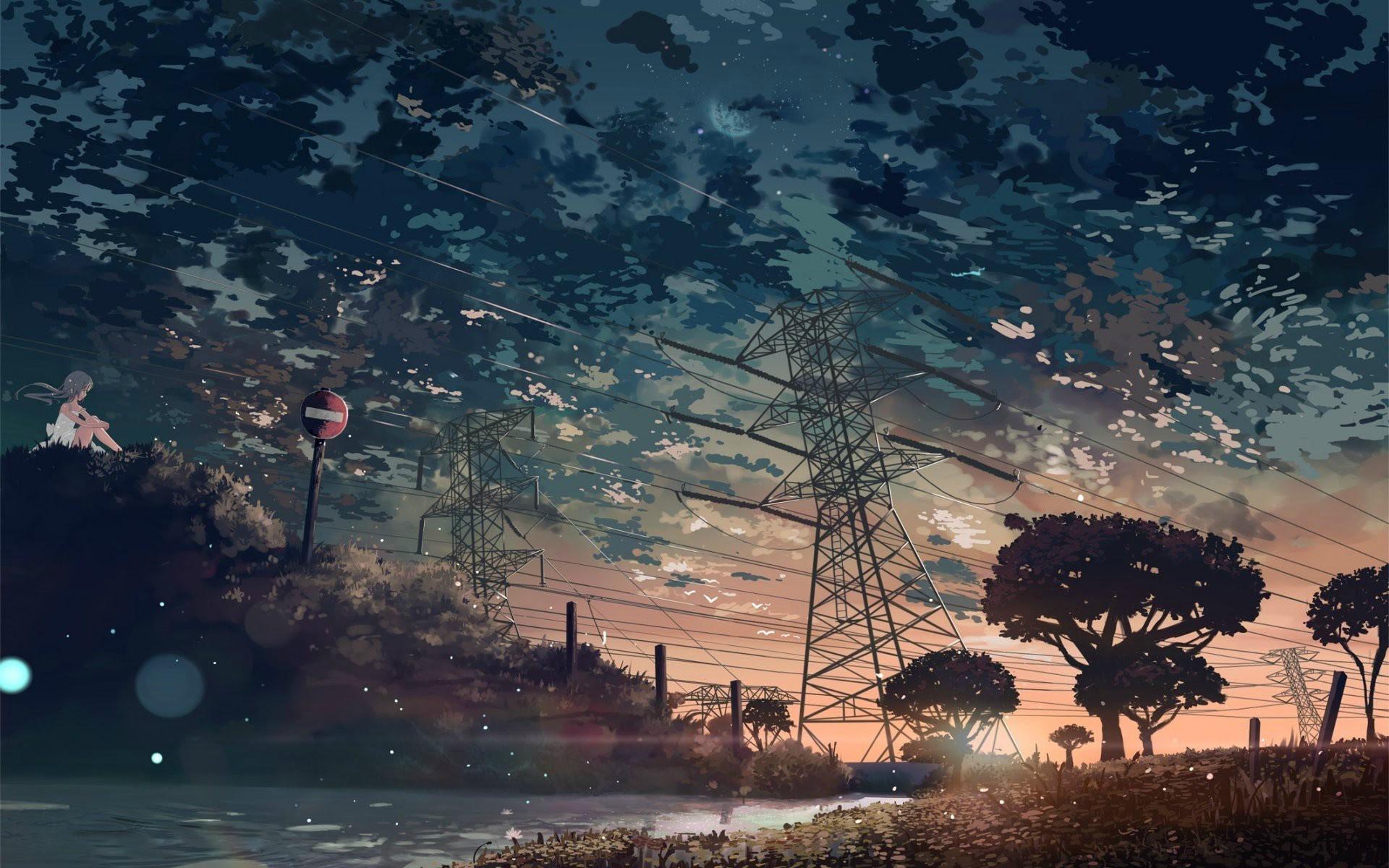 Download 610 Koleksi Wallpaper Hd Anime Nature Gratis Terbaru
