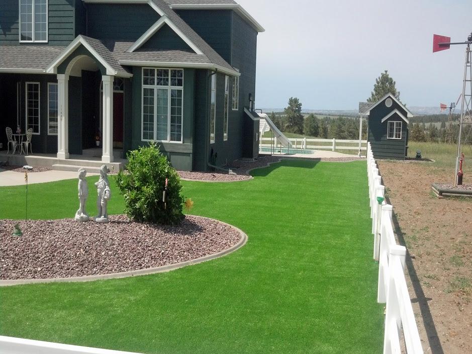 Faux Grass West Jordan Utah Backyard Deck Ideas Front Yard