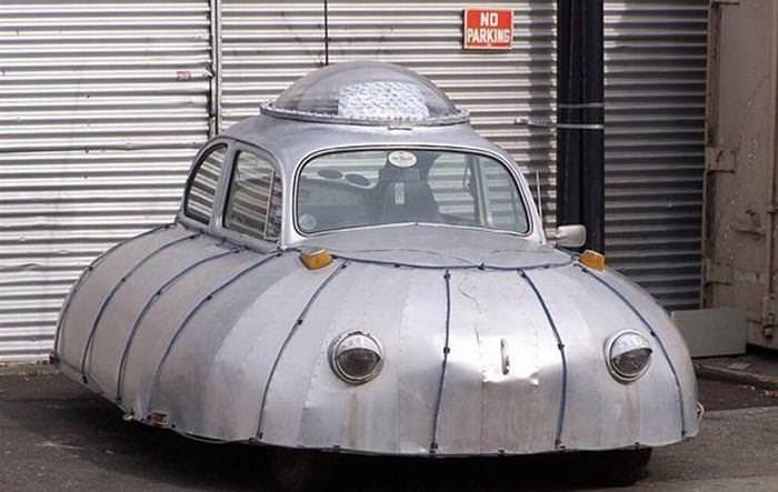 15 Odd Vehicles You Won't See Every Day!