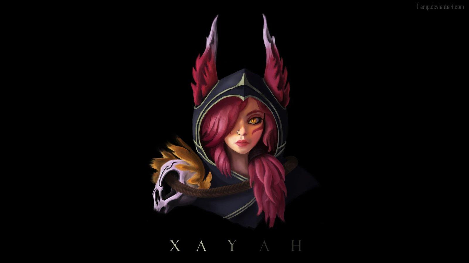 Xayah Wallpapers Fan Arts League Of Legends Lol Stats