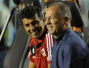 Mano Menezes Flamengo x Goiás (Foto: Alexandre Vidal / Flaimagem)