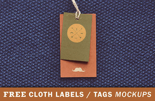 50+ Free Label Tag Mockup Files For Apparels | Antara's Diary