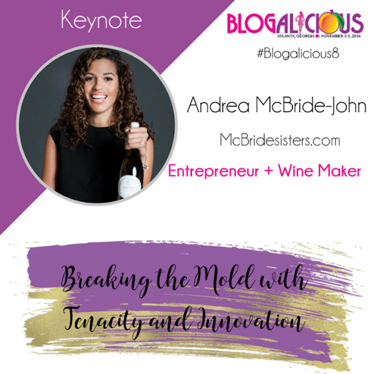 Robin and Andrea McBride - Closing Keynotes at Blogalicious 2016