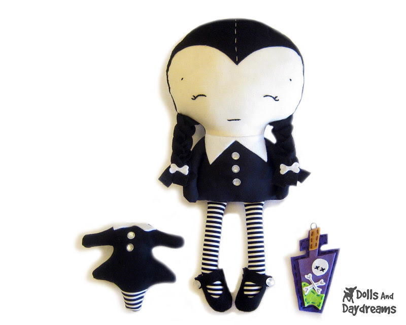 Wednesday Adams Doll