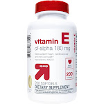 Vitamin E 180mg Supplement Softgels - 200ct - Up&Up , Adult Unisex
