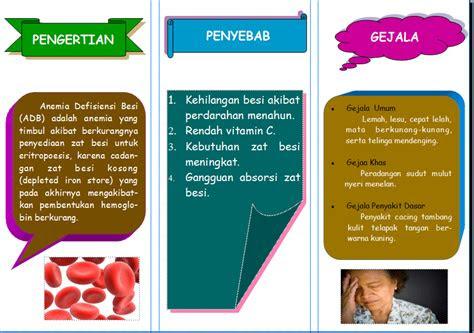 anira  contoh leaflet anemia defisiensi besi