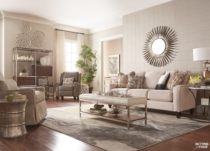 How To Place Furniture On A Rug Interior Design | Modern ...