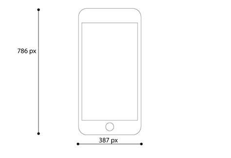 vitorials iphone   vector mockup