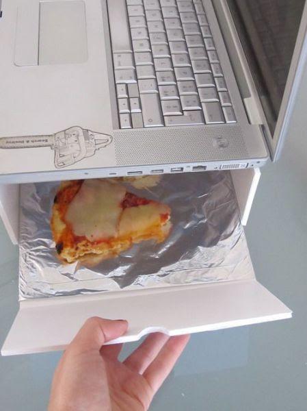 Unique Mac Pizza Warmer