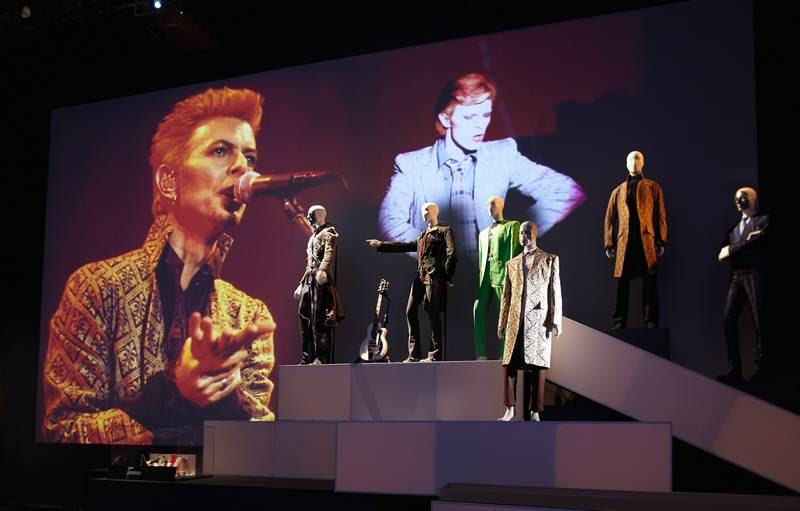 """""""David Bowie Is"""" includes costumes, photography and more from the singer's long, ever-evolving career as an artist."""