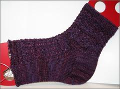 Poppy Socks progress
