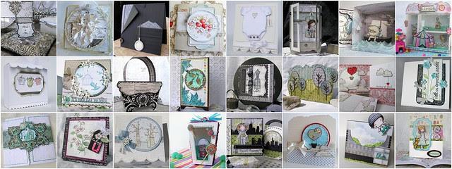 craft collage mel stampz