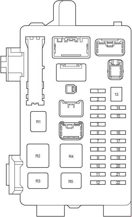 2006 Mitsubishi Eclipse Fuse Box Diagram