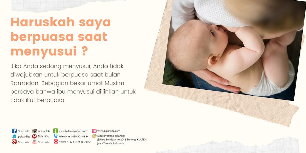 Besok kita sudah memasuki bulan Ramadhan dan mungkin Anda akan mulai bertanya Puasa saat Menyusui?  hhhmmm ….Memungkinkankah?