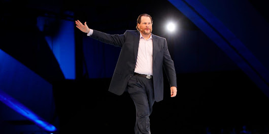 Salesforce is suddenly hiring fewer people after spending nearly $4 billion buying companies this year