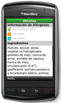 Un móvil con la aplicación. |Foto: El Mundo