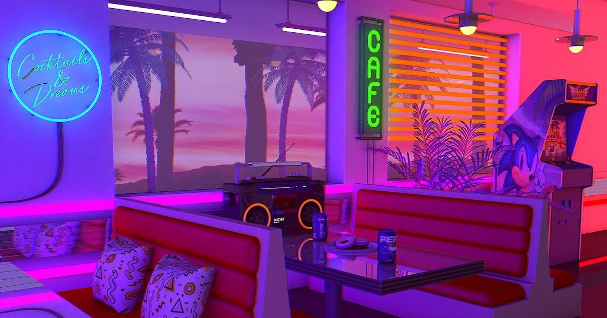 Vaporwave Room: Artwork Heavily inspired by 80's Aesthetic ...