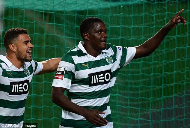 Big future: Carvalho celebrates scoring against FC Pacos de Ferreira in December