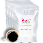 Espresso Frozen Yogurt Pre Mix One Box (12kg/26.45lb) - Yogurt Powder Factory
