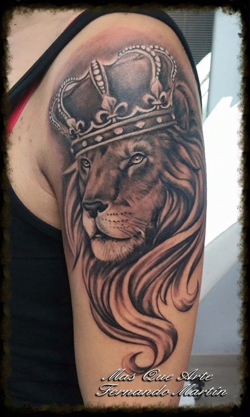 Leon Con Corona Tatuaje Guatelinda