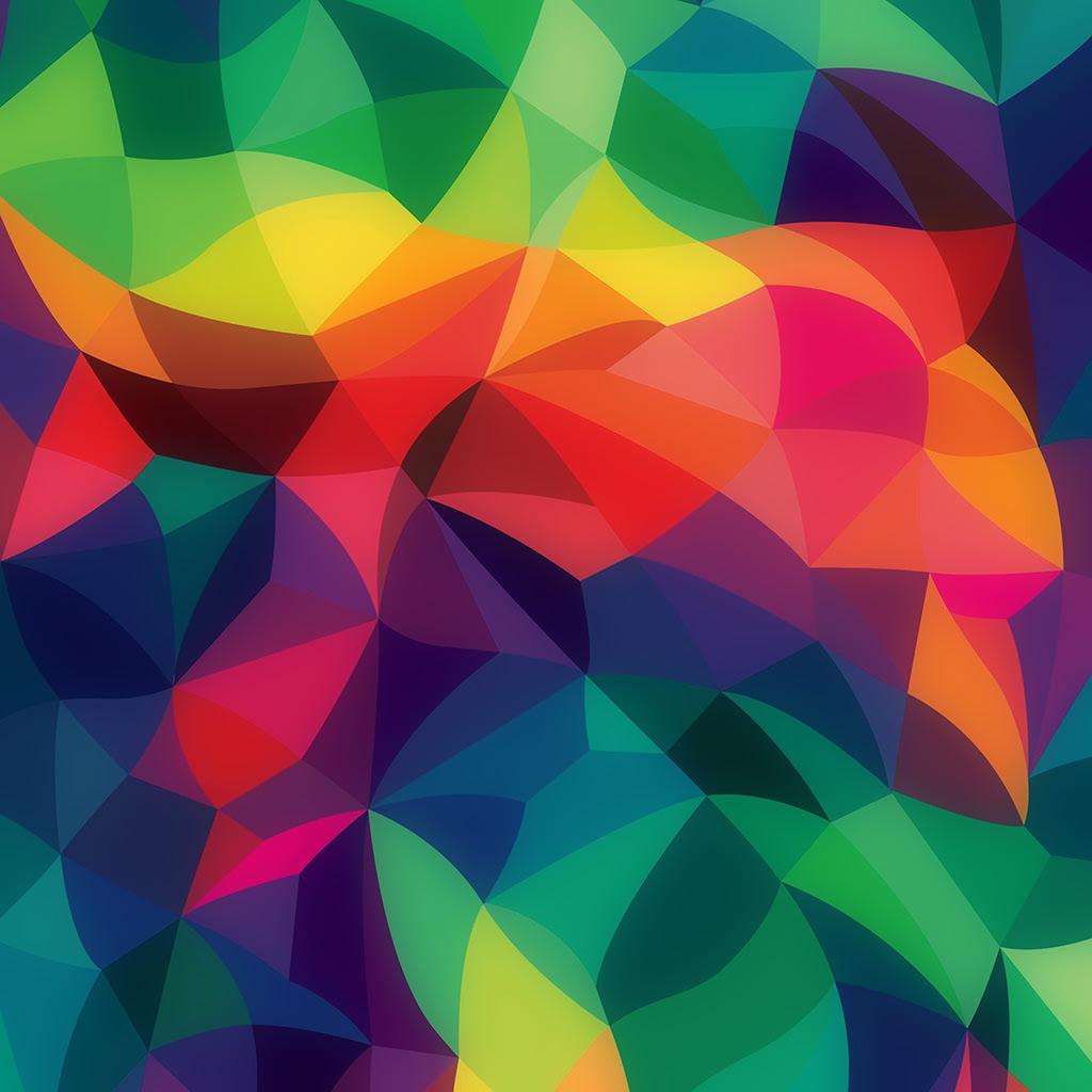 Vk42 Rainbow Abstract Colors Pastel Dark Pattern Wallpaper