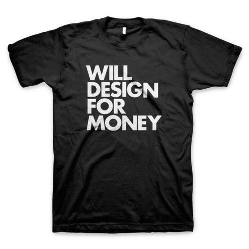 Inspirasi Desain Kaos Tipografi