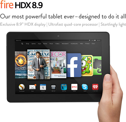 Fire HDX 8.9 - Amazon's Official Site - Learn More