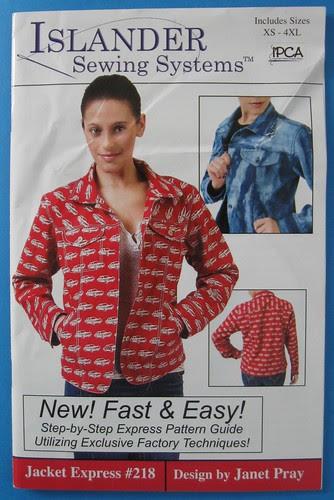 Jacket express pattern photo