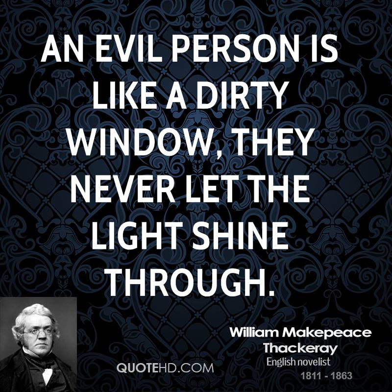 Quotes About Evil People 246 Quotes