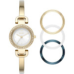 Dkny Women's City Link NY2891 Gold Stainless-Steel Quartz Fashion Watch