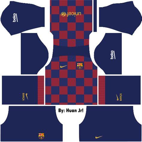 logo kit dream league soccer barcelona terbaru
