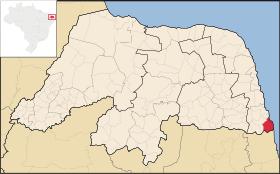 Localização de Baía Formosa
