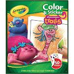 Crayola Trolls Color & Sticker Book