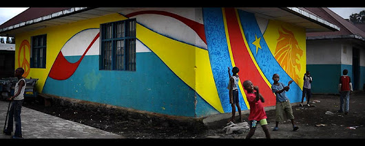 Street children in Congo (DRC): painting a better future – in pictures