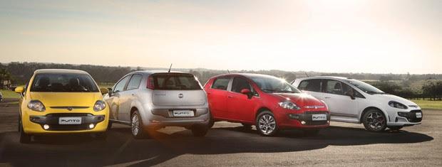 Fiat Punto 2013 chega renovado com a cara do modelo vendido na Europa (Foto: Divulgação)