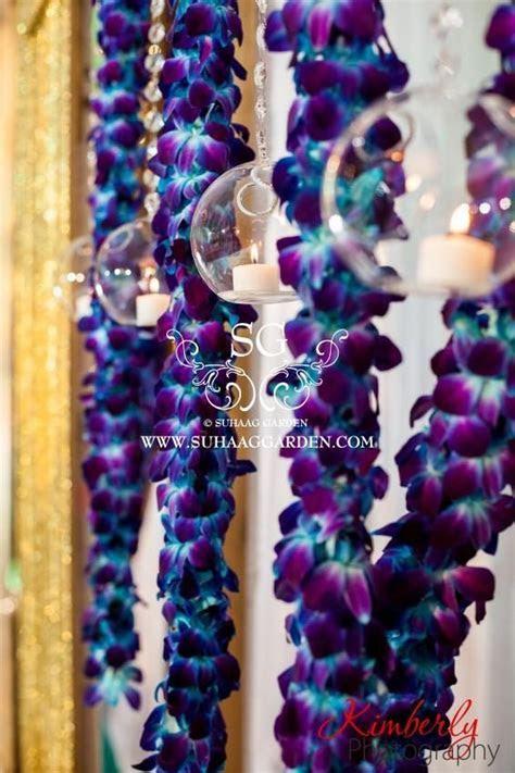 Indian wedding! #blue #orchids   My Dream Wedding   Blush