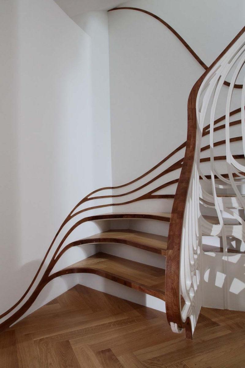 Escadas incrivelmente projetadas que estão um degrau acima das demais 16