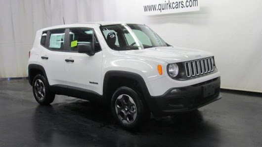 New 2015 Jeep Renegade Sport 4WD