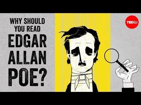 TED-Ed: Por que você deve ler Edgar Allan Poe?