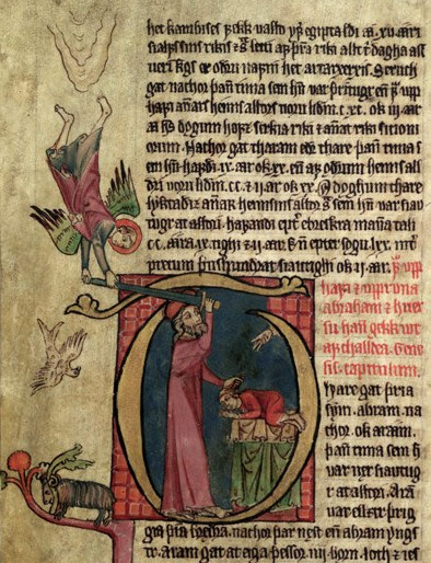From the 14th century Icelandic manuscript