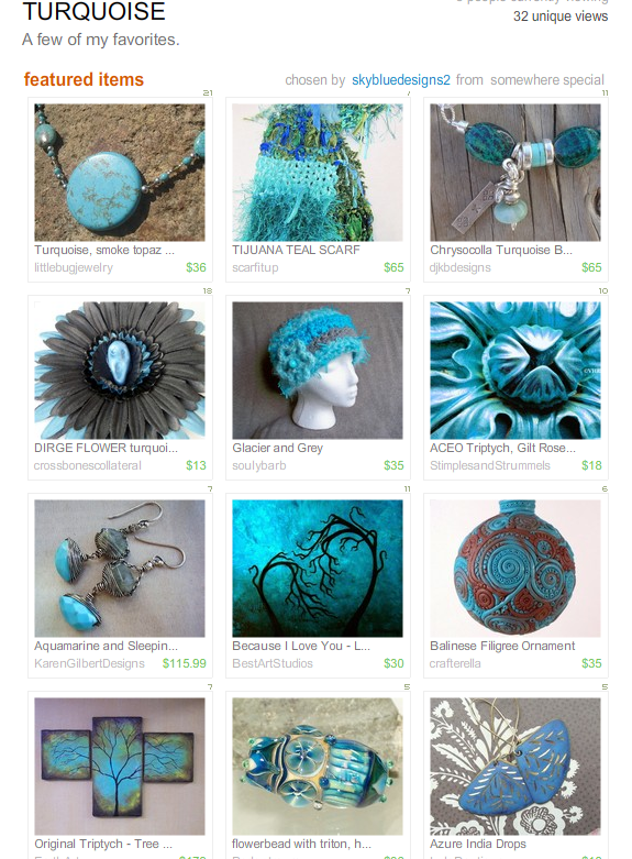 TURQUOISE by SkyBueDesigns2