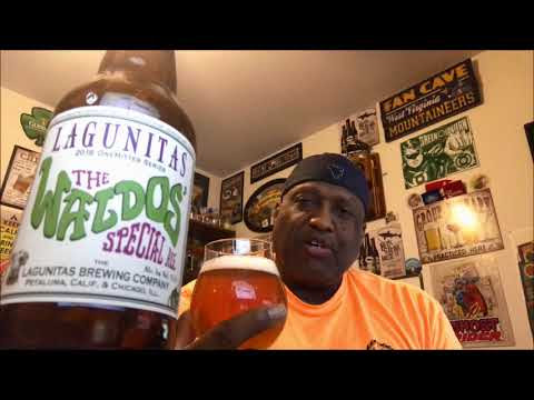 Lagunitas The Waldos' Special Ale Beer Review 2018