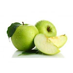Commodity Fruit Granny Smith Diced Apple, 3/8 inch - 1 each.