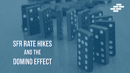 Dominoes and Rate Hikes in the SFR Rental Market | Corevest Finance