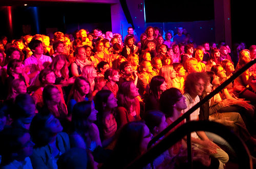 Technicolor Audience by Very Quiet, on Flickr