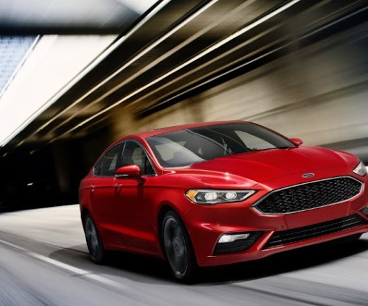 Ford Cancels Redesign Program for NA Ford Fusion