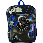 """Black Panther 16"""" Kids' Backpack - Black"""